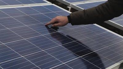 Solar panel engineer control