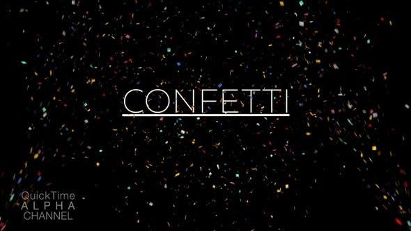 Thumbnail for Confetti Explosions 4K