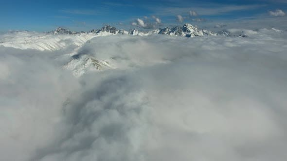 Thumbnail for Going Over The Clouds To The Snowy Mountains