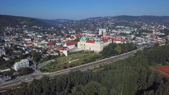 Thumbnail for Aerial View of Klosterneuburg Monastery, Austria
