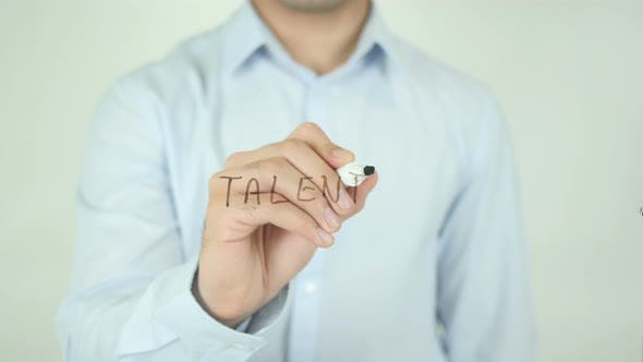Thumbnail for Talent, Writing On Screen