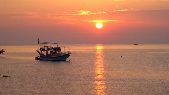 Thumbnail for Beautiful Sunrise Over the Mediterranean Sea