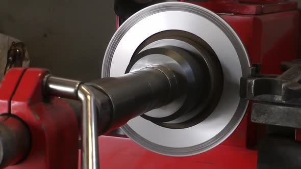 Thumbnail for Car Stop Brake Disc Lathe Repair