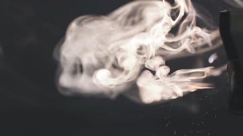 Smoke in Slow Motion.