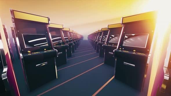 Thumbnail for Retro Arcade Game  Machines #02