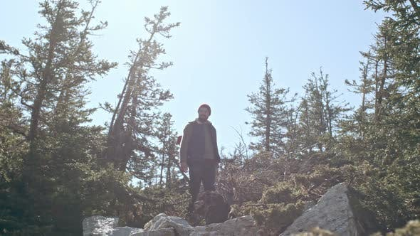 Thumbnail for Man Lost High Up in Mountains