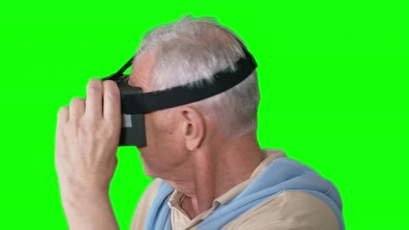 Thumbnail for Old Man in VR Goggles