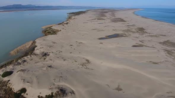 Sand Dunes in the Lagoon