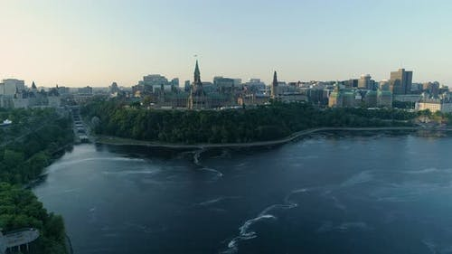 Panoramic view of Ottawa
