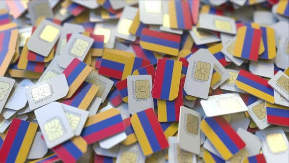 Thumbnail for SIM Cards with Flag of Armenia