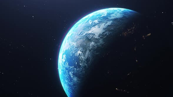 Thumbnail for Planet Earth in Outer Space