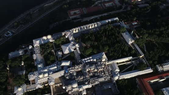Istanbul Topkapi Palace And Historical Peninsula Aerial View 3