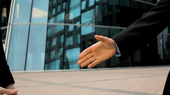 Thumbnail for Two Business Partner Shake Hands
