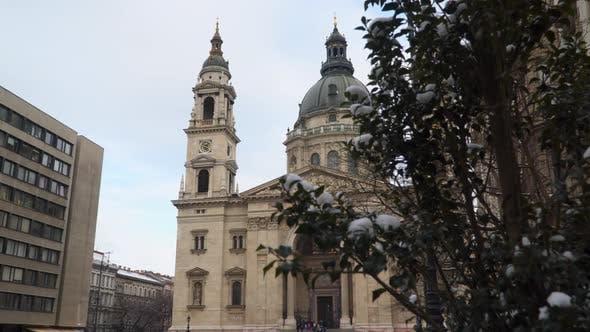 Basilique Saint-Étienne Hongrie Budapest
