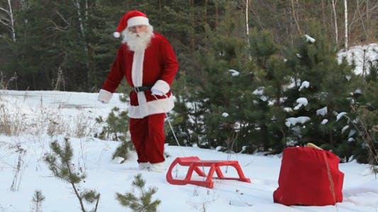 Thumbnail for Santa Losing Sack