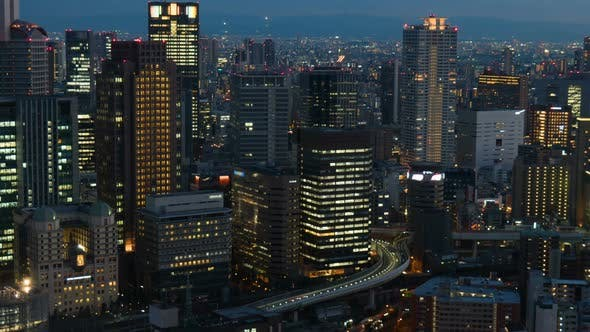 Thumbnail for City Building At Night