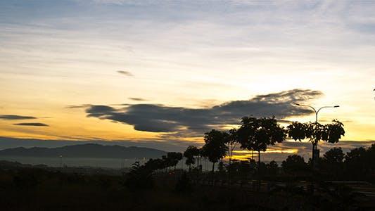 Thumbnail for Blue Sky Sunrise - 3K Resolution