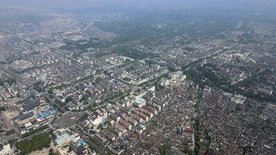 Aerial City, Daytime