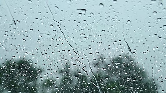 Thumbnail for Rain Through Windscreen 2 - Full HD