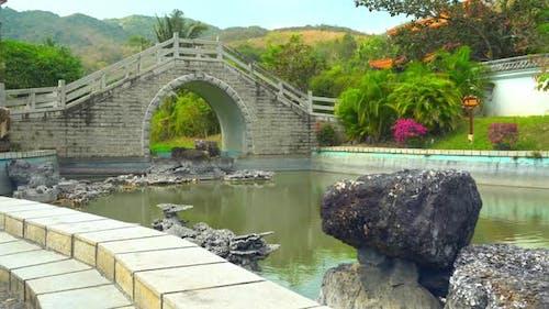Schöner Park in Sanya, China