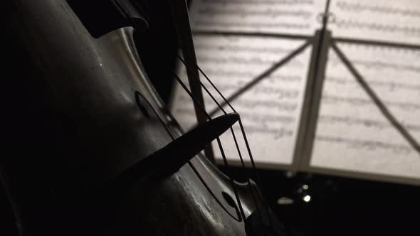 Thumbnail for Close Up Playing the Cello