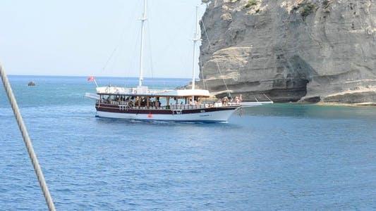 Thumbnail for The Tourist Ship in Mediterranean Sea