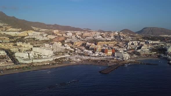 Thumbnail for Aerial View of Playa De Las America, Tenerife