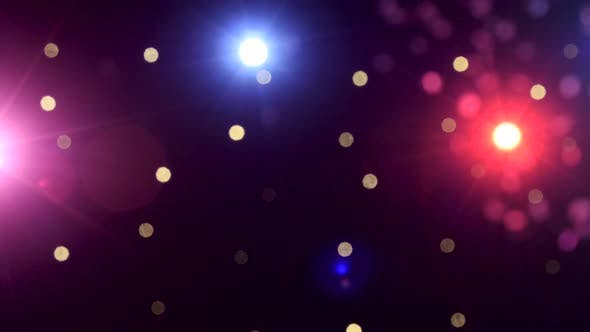 Thumbnail for Background of Concert Lights Bokeh