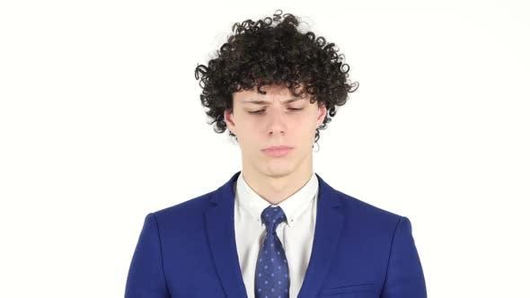 Thumbnail for Sad Young Businessman