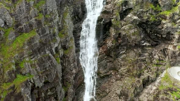 Thumbnail for Trollstigen or Trolls Path Is a Serpentine Mountain Road in Norway