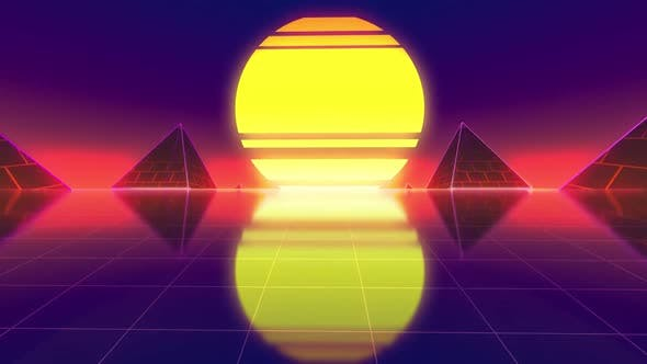 Cover Image for Retro Background 4k