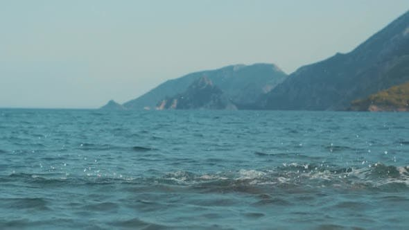 Thumbnail for Child Relaxing on Sea at Summer Vacations. Little Girl Having Fun at Sea