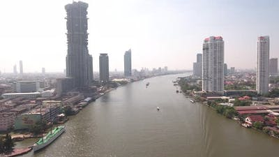 Above Bangkok Riverside
