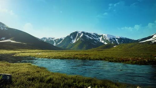 Mountain valley HD