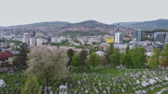 Thumbnail for Old Jewish Cemetery In Sarajevo  V1