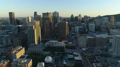 Downtown Montreal, Canada