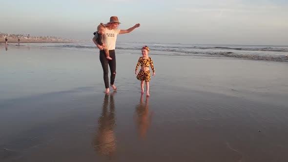 Thumbnail for Enjoying Children at the Beach