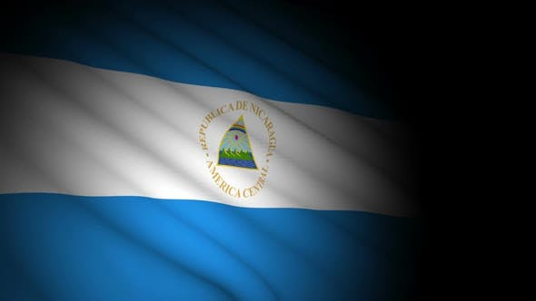 Thumbnail for Nicaragua Flag Blowing in Wind