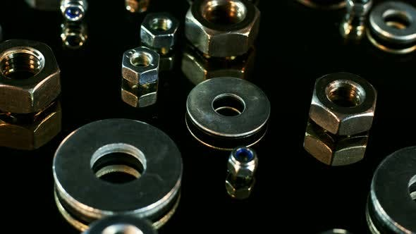 Stainless Steel Nuts 10