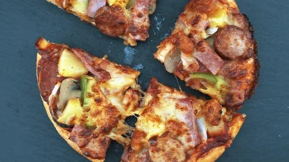Slides Of Pizza