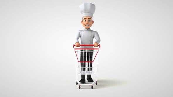 6 cartoon Chefs