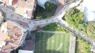 Aerial Drone Sport Area