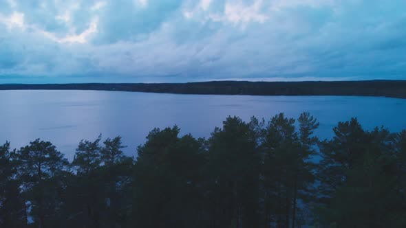 Thumbnail for Calm Lake Surface View