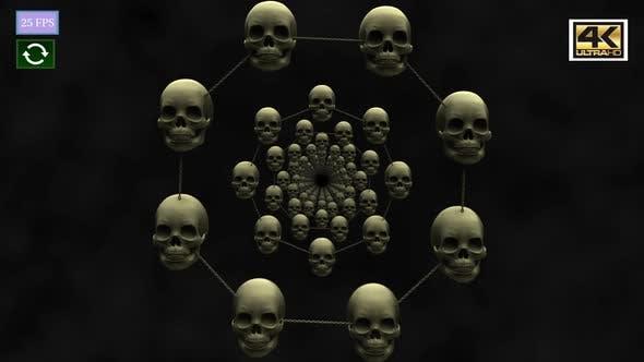 Thumbnail for Skull Circle 4K