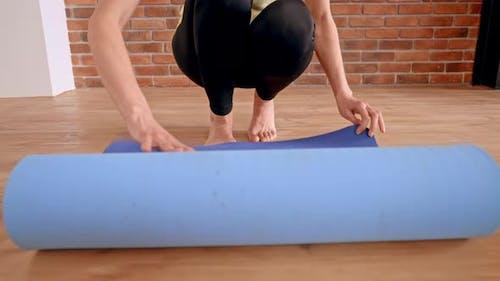 b Roll Female Sport Workout