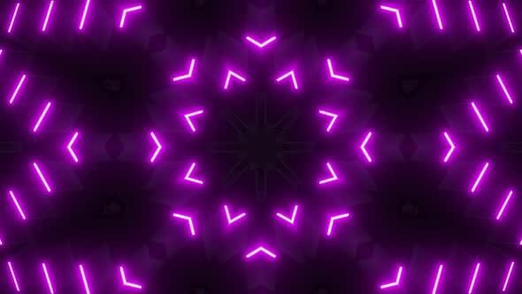 4k Pink Neon Vj Loop Pack
