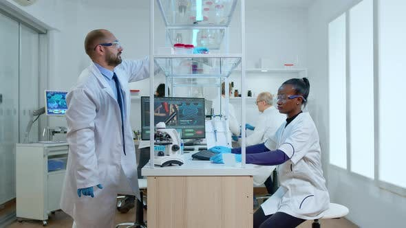 Team of Diverse Ethinc Scientists Working on New Generation Disease Cure