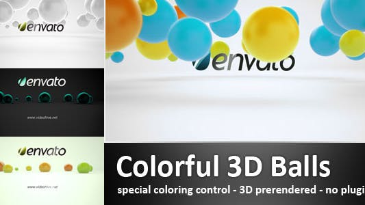 Thumbnail for Colorful 3D Balls