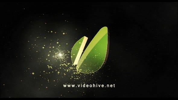 Cover Image for Christmas Star Logo | After Effects Template