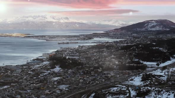 Thumbnail for Ushuaia at Sunset, in Patagonia Argentina.